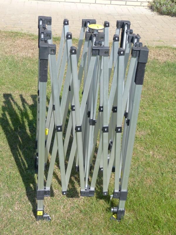 Ersatzteile für Faltzelt Rahmen - kein Problem