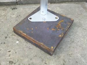 Faltzelt Compact Canopy Gewichte_Befestigen 04
