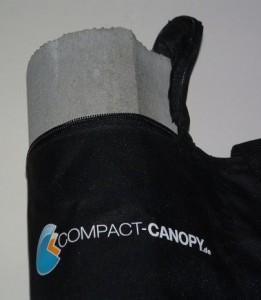 Faltzelt Compact Canopy Sandsack Beton