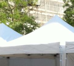 Rahmenkonstruktion einfacher Zelte