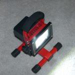 10W LED Akku-Strahler