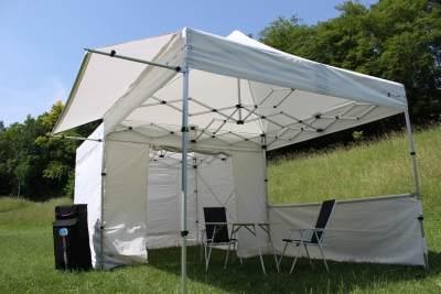 Faltzelt Compact Canopy Packmaß nur 1m