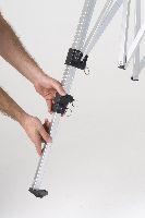 die beine des faltzeltes lassen sich nur schwer ausziehen. Black Bedroom Furniture Sets. Home Design Ideas