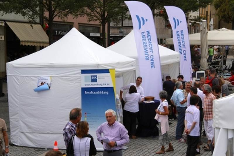 Faltpavillon Gewerbe und Promotion