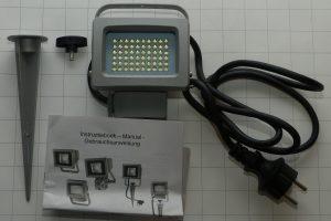 LED Strahler für draussen