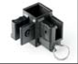 Eckgelenk mit Zugring Ersatzteil für 29mm 4-Kant