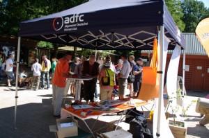 ADFC Faltpavillon mit Druck