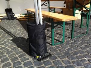 Sandsack Gewichte für Faltzelte