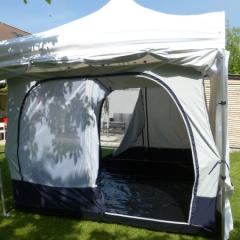 Camping mit dem 3x3m Faltzelt?