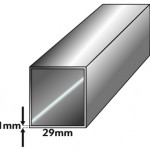 29mm Compact Canopy Faltzelt Profil