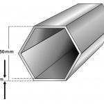 50mm Compact Canopy Faltzelt Profil