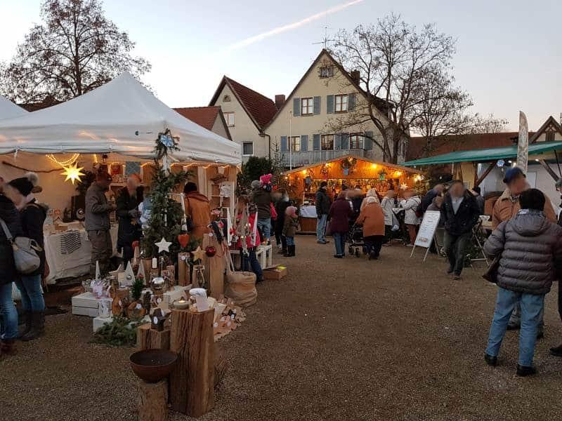 Faltzelt Weihnachtsmarkt