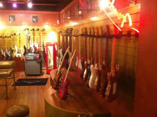 Faltzelt für Fender Gitarren