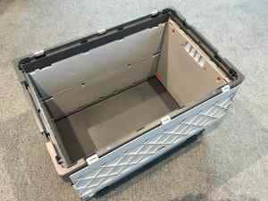 Faltbox für Dach und Waende