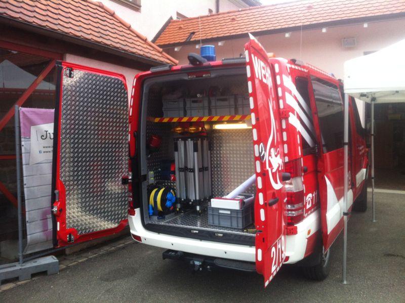 Faltzelt für Feuerwehr