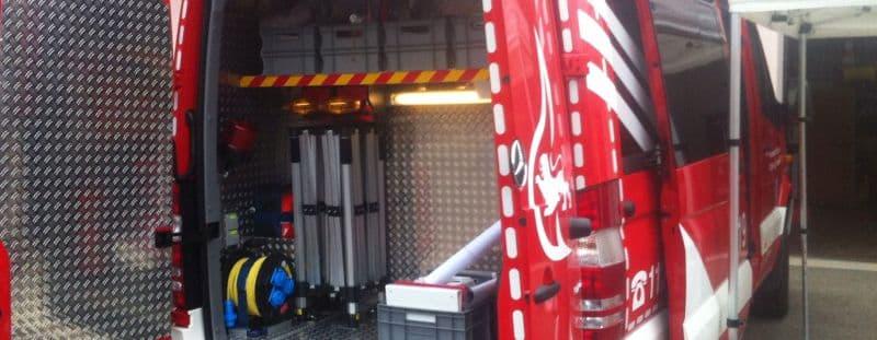 Feuerwehr Faltzelt